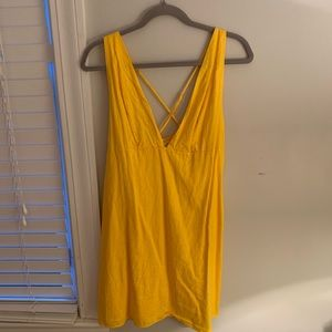 Urban Outfitters Yellow Casual Dress
